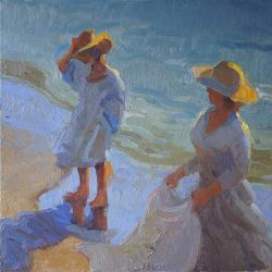 Study for Breezy Day at Mothers' Beach