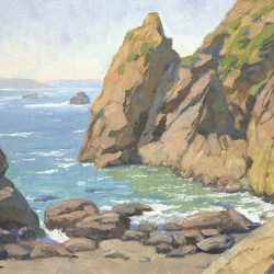Out of the Wind, Sonoma Coast