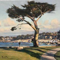 Lover's Point Evening, Monterey