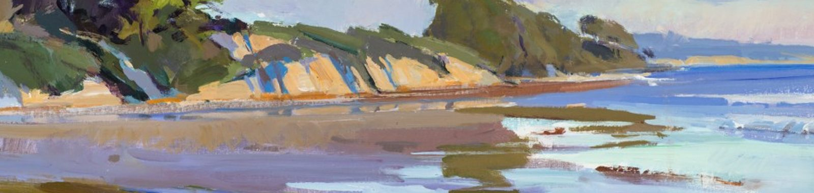 """Goleta Beach King Tide"" by Marcia Burtt"