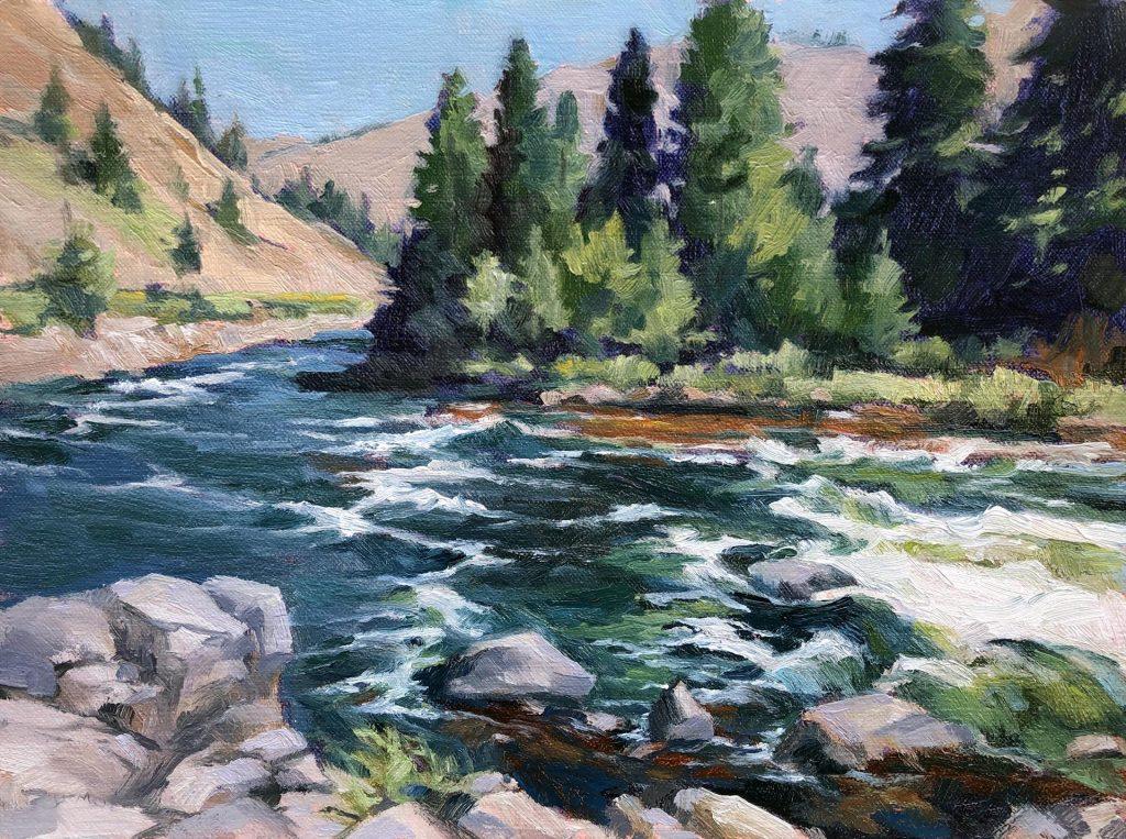 Seelos, Julia Munger_Poudre River Rapids