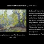 Cultural Significance of the Arroyo Seco – The Birthplace of the California Art Club